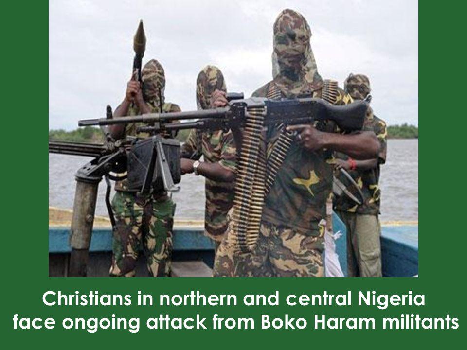 Abubakar Shekau, leader of Boko Haram boasted about the forced conversions