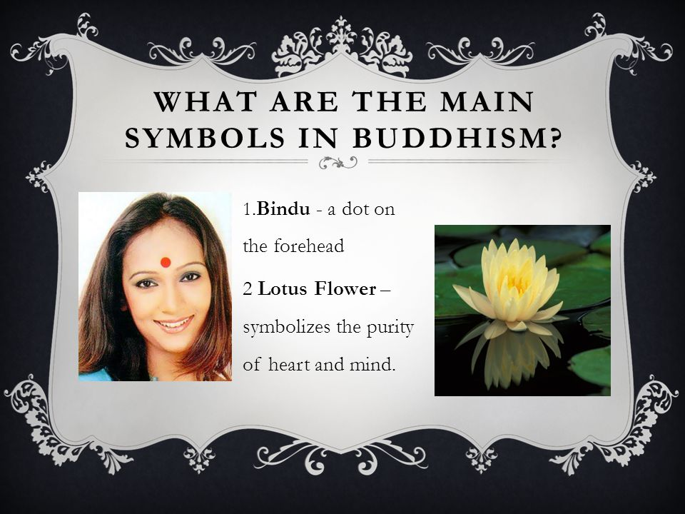 WHAT ARE THE MAIN SYMBOLS IN BUDDHISM.