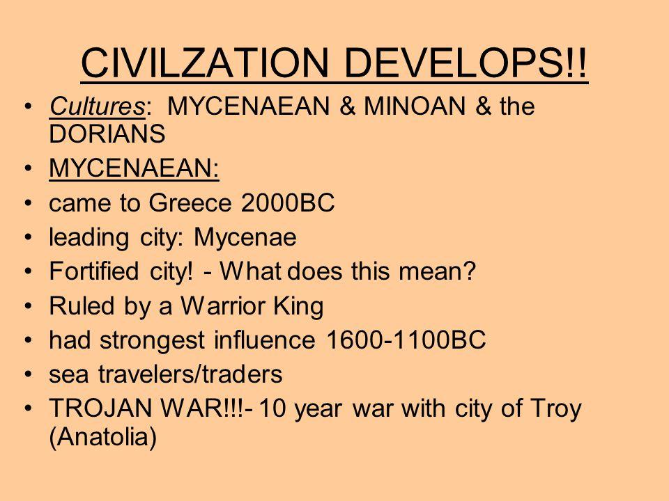 CIVILZATION DEVELOPS!.