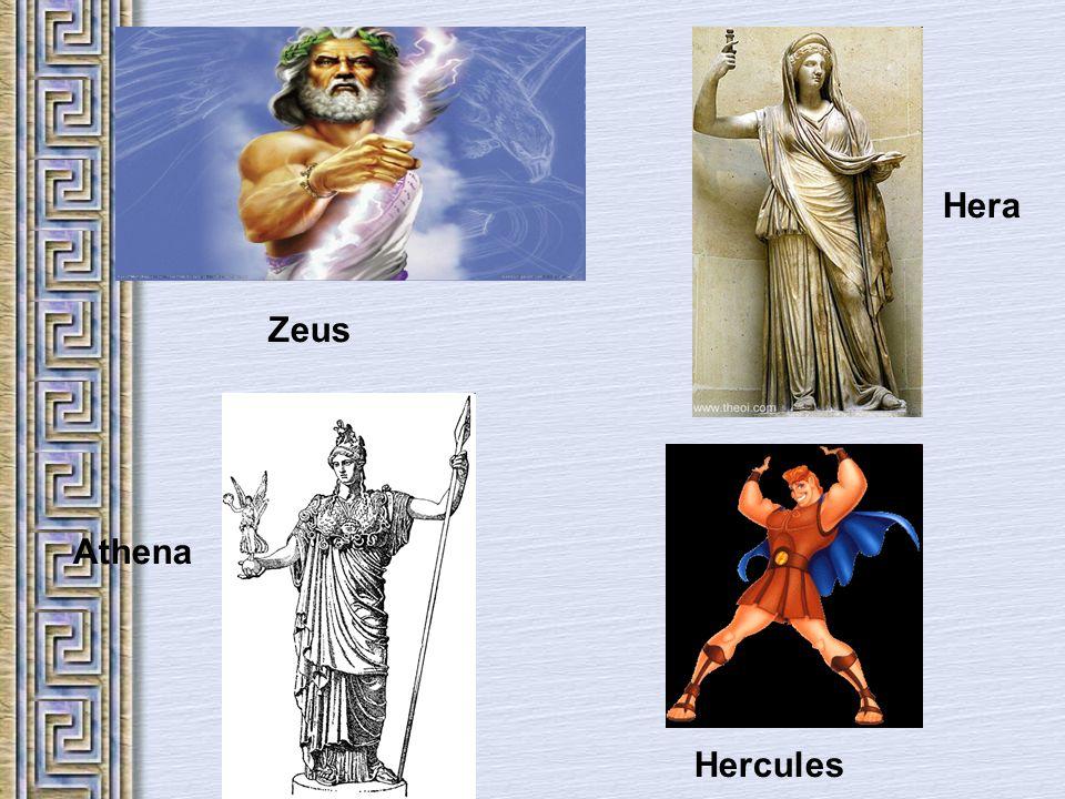 Zeus Hera Athena Hercules