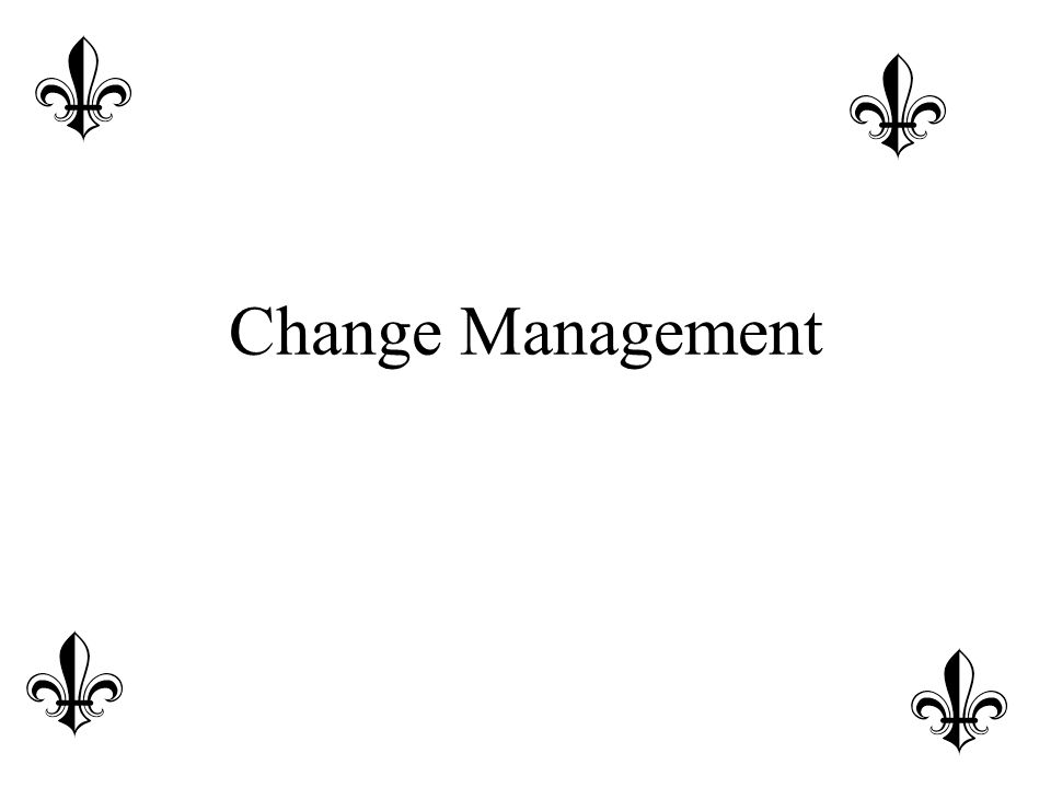 Managing Resistance: Attitude Ensure people understand why change is needed- the business case for change Put the change into the context of the Big Picture link it to other changes Convey a compelling vision for the future If possible, personalize benefits of the change Establish rewards, recognition, incentives and performance objectives that support change objectives