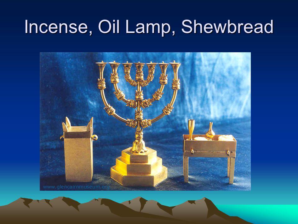 Incense, Oil Lamp, Shewbread