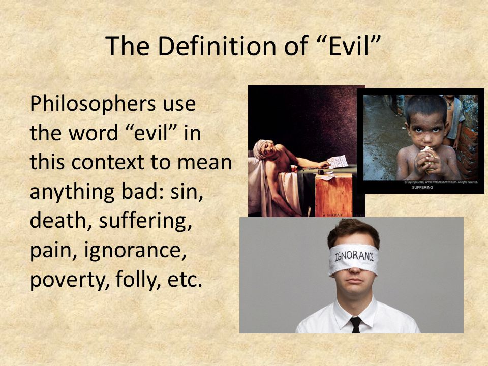 definition of good and evil essay What is evil research papers delve into the definition of evil along with research papers on what is evil and can sense what is good and what is evil.