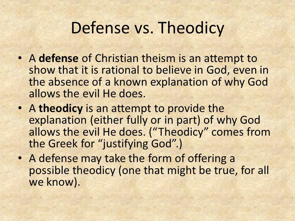 Defense vs.