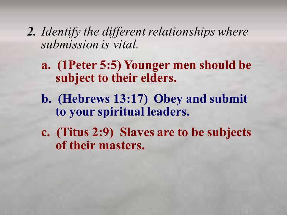 d.(Ephesians 6:1) Children should obey their parents.