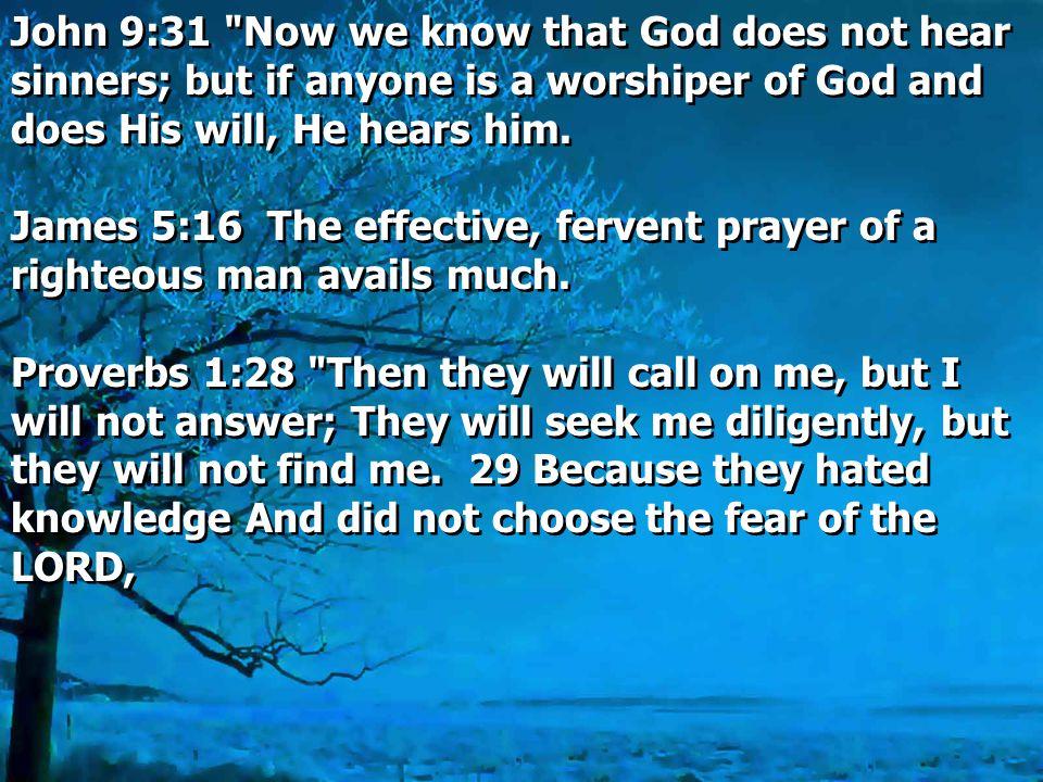 John 9:31