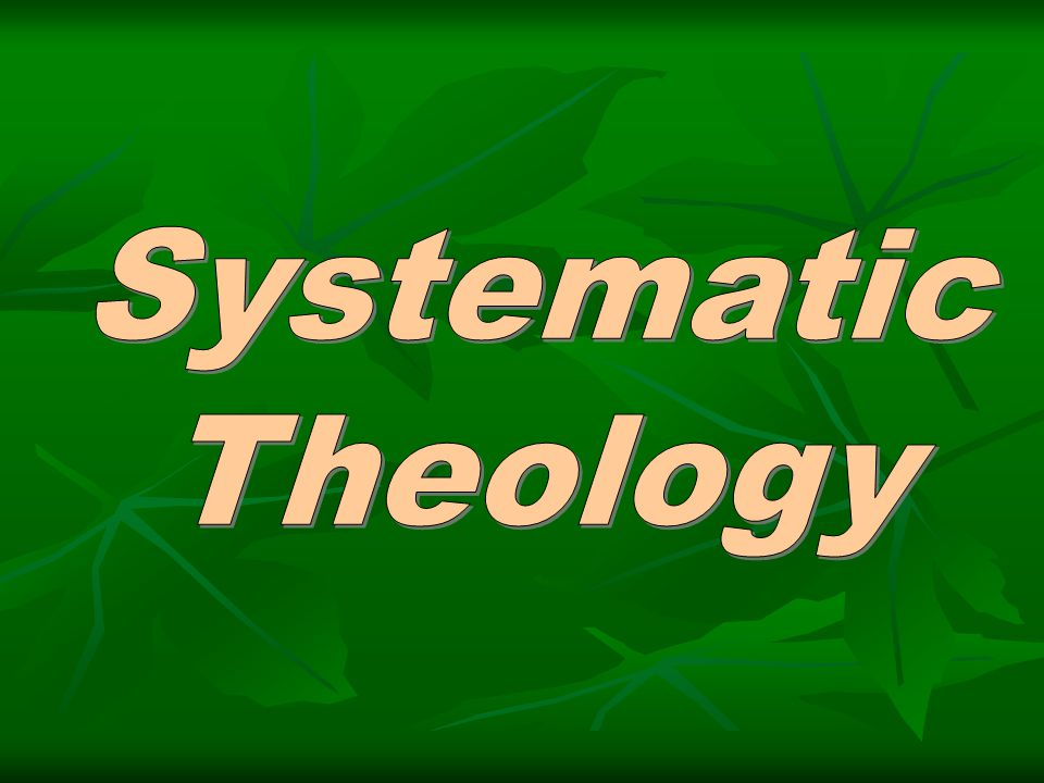 Theology  Greek theos – God  Greek logos – reason or speech  Result – Rational discussion about God