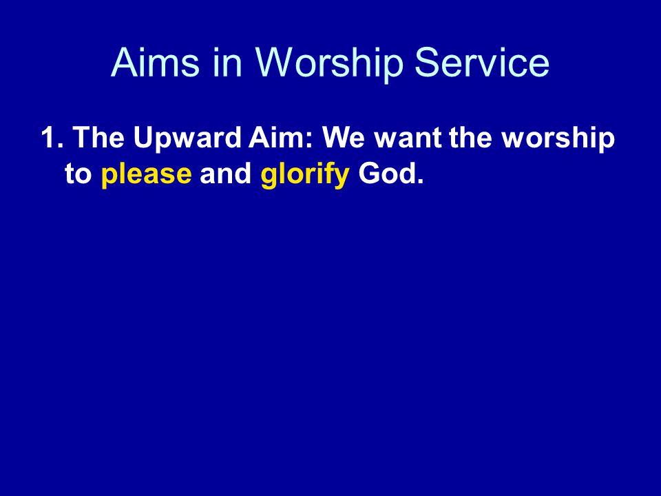 In the drama of worship...