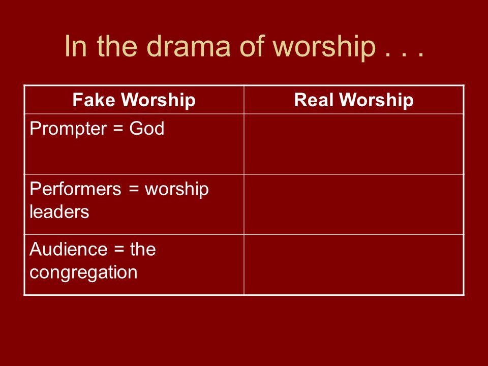 KEYS TO MAKING BLENDED WORSHIP WORK 1.