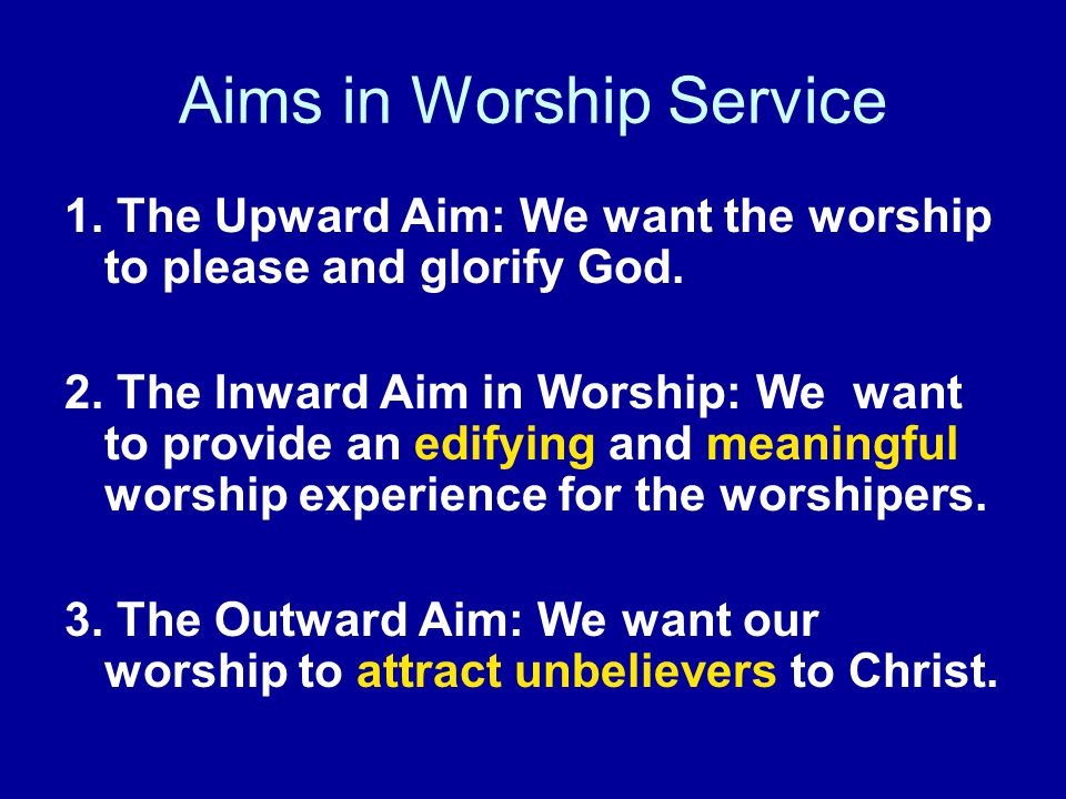 1 Corinthians 14:25 Worship must be intelligible to unbelievers...