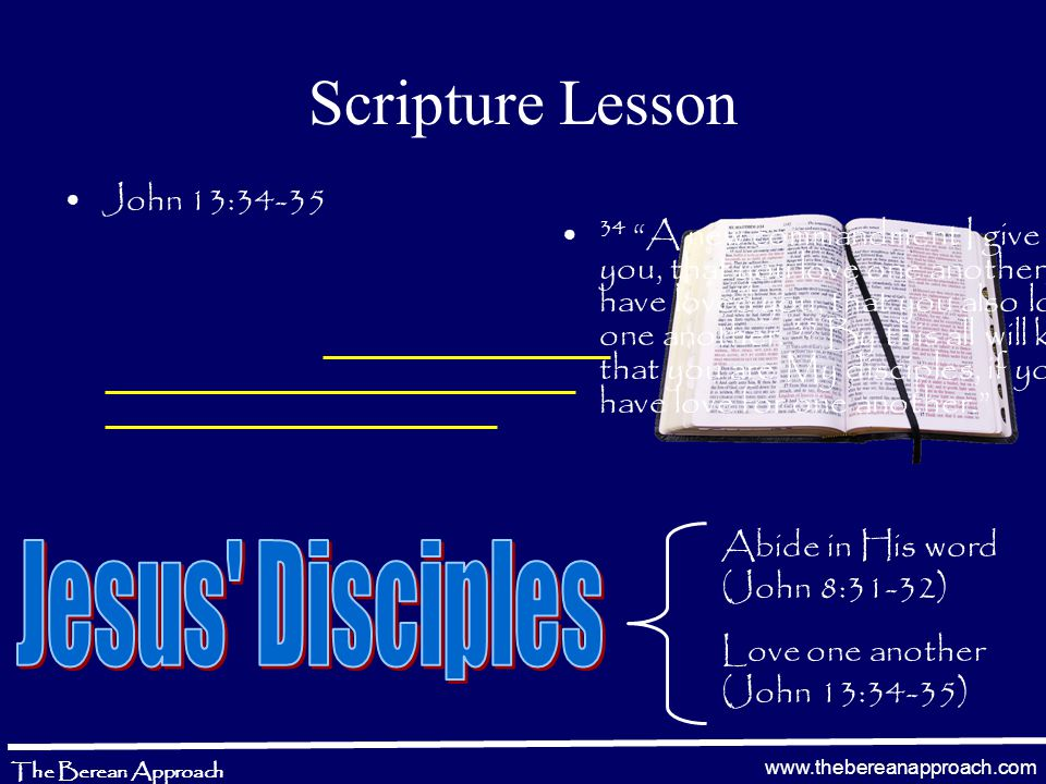 www.thebereanapproach.com The Berean Approach 1 Corinthians 15:50-53 50 Now this I say, brethren, that flesh and blood cannot inherit the kingdom of God; nor does corruption inherit incorruption.