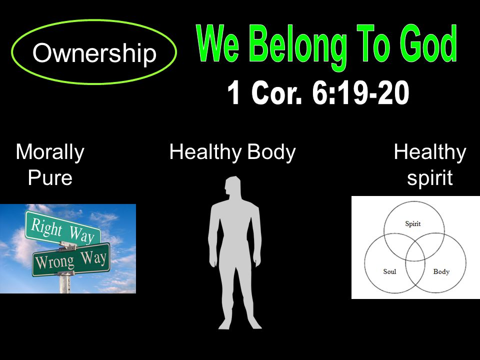 Ownership Morally Pure Healthy BodyHealthy spirit