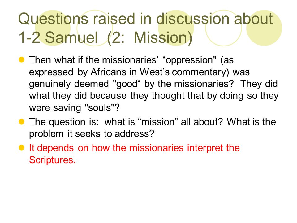 What is the teaching on Mission in Romans (Rom 15:14-24).