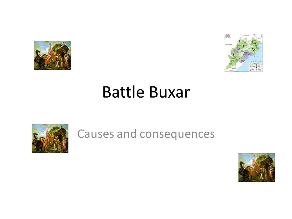 Battle Buxar Causes and consequences