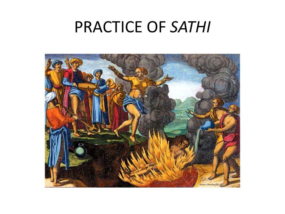 PRACTICE OF SATHI