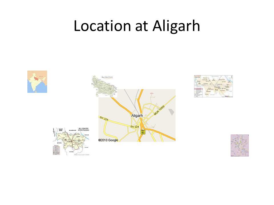Location at Aligarh