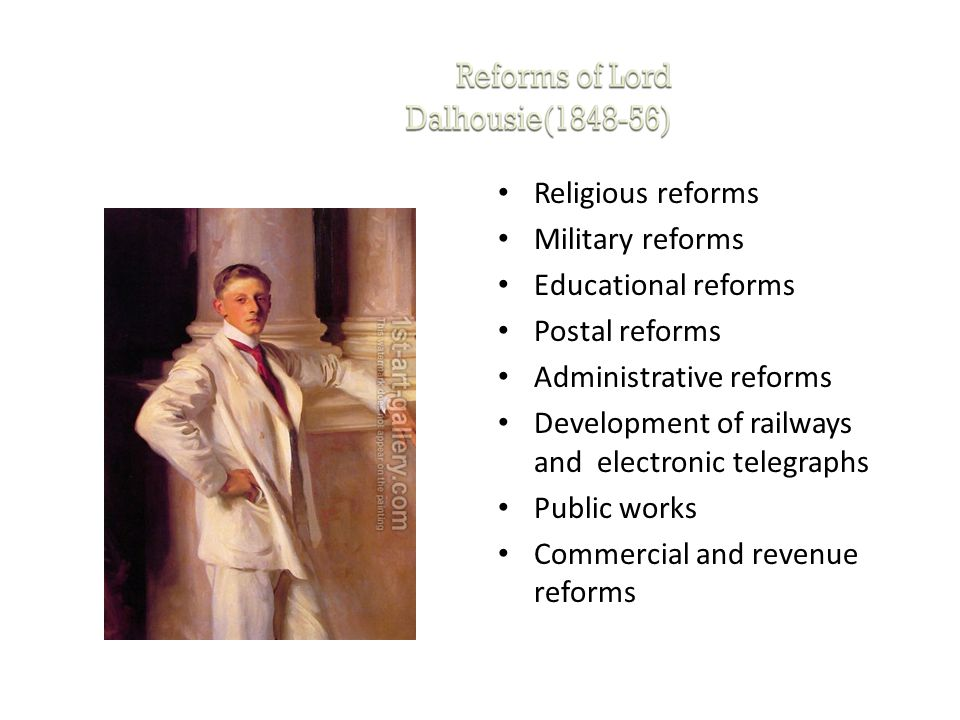 Religious reforms Military reforms Educational reforms Postal reforms Administrative reforms Development of railways and electronic telegraphs Public