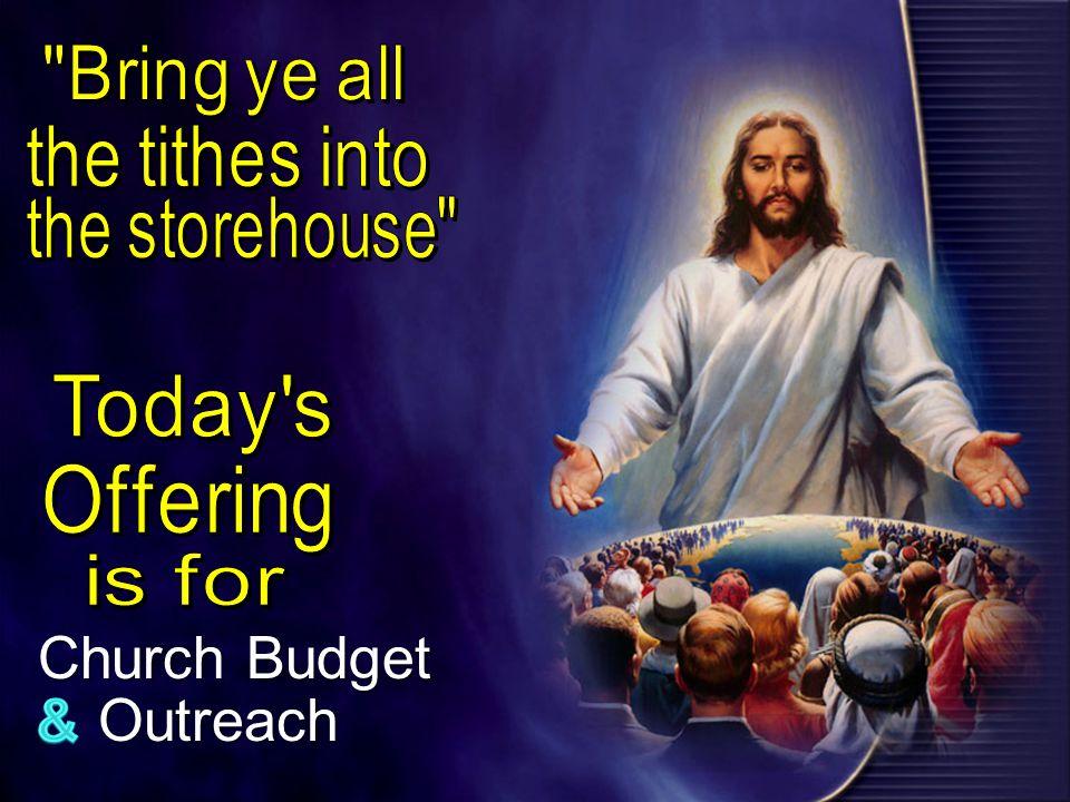 Church Budget Outreach