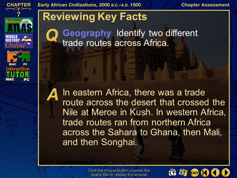 Chapter Assessment 5 Reviewing Key Facts Click the mouse button or press the Space Bar to display the answer. Citizenship What caused the decline of M