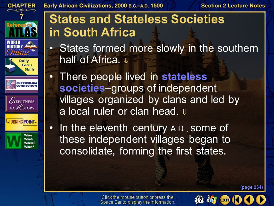 Section 2-35 Click the mouse button or press the Space Bar to display the answer. What was the chief mechanism of Islam's spread through eastern Afric