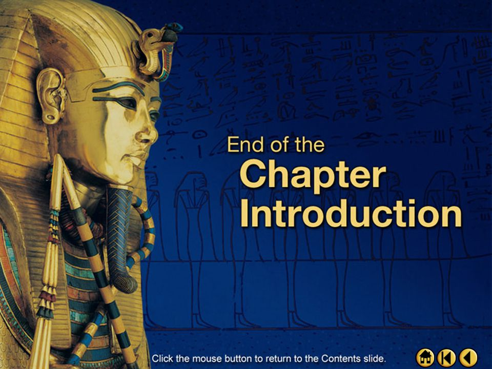 Intro 4 Chapter Objectives After studying this chapter, you should be able to:  Click the mouse button or press the Space Bar to display the informat