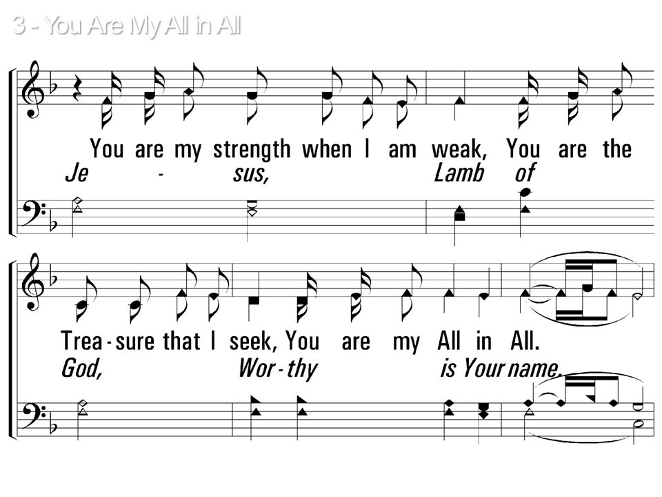 Jesus, Lamb of God, Worthy is Your name. Jesus, Lamb of God, Worthy is Your name.