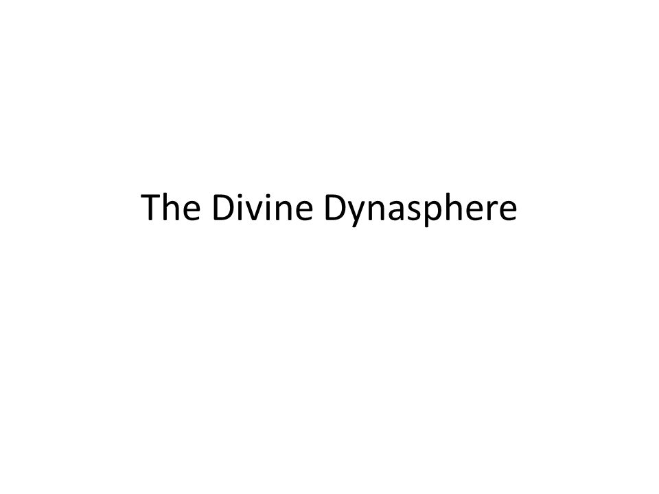 The Divine Dynasphere