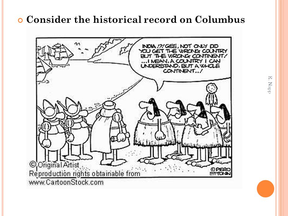 Consider the historical record on Columbus E. Napp