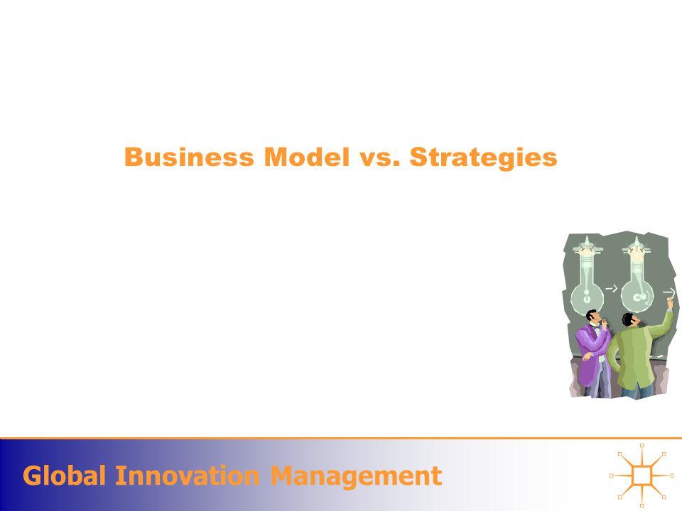 Global Innovation Management Business Model vs. Strategies