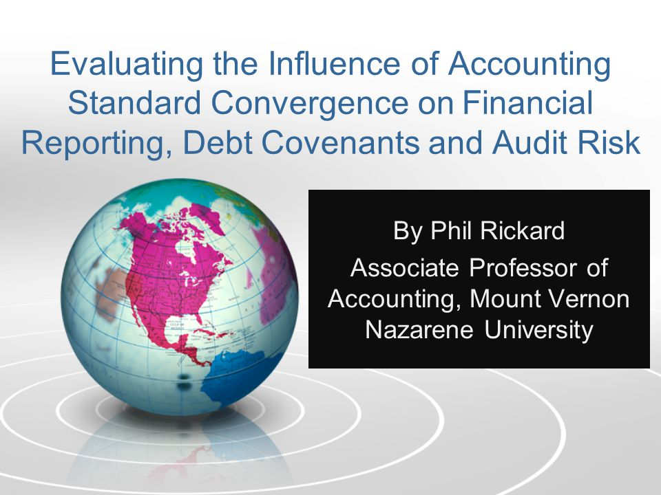 What is U.S.Accounting Convergence.