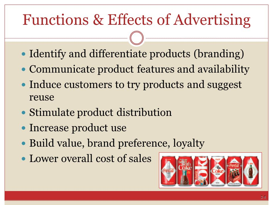 2-19 Post Industrial Advertising Demarketing Cold War ends Multinational companies expand Traditional products aged Affluent baby boomers Increased competition among agencies The Internet and Facebook
