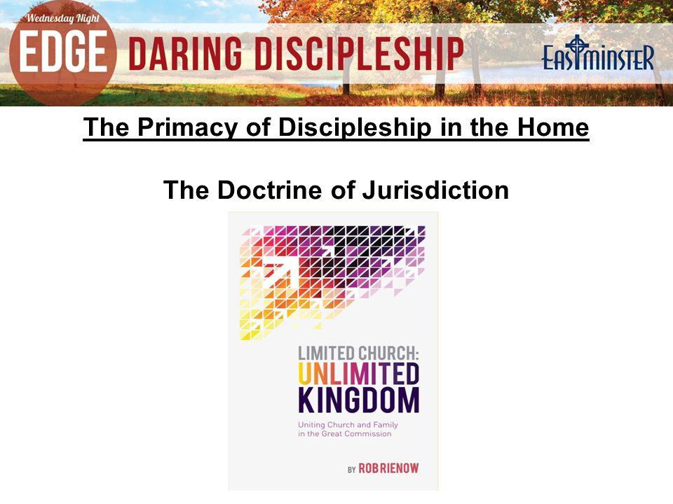 God has established distinct institutions and distinct roles within nations, churches, and families.
