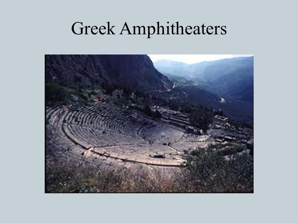Greek Amphitheaters