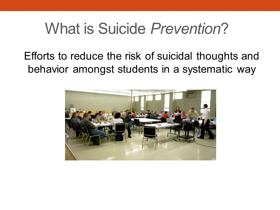 What is Suicide Prevention.