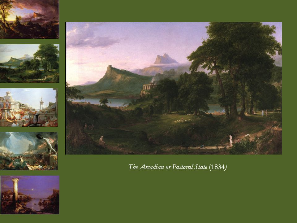 The Arcadian or Pastoral State (1834)