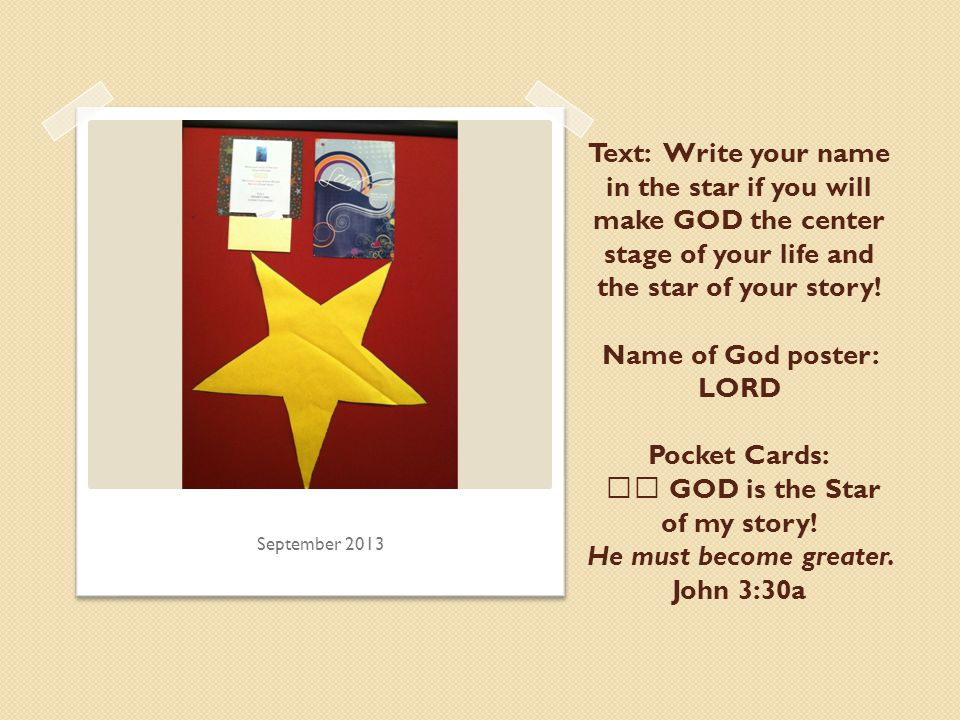 Text: Write your name in the less than sign if you will think about GOD more and yourself less.