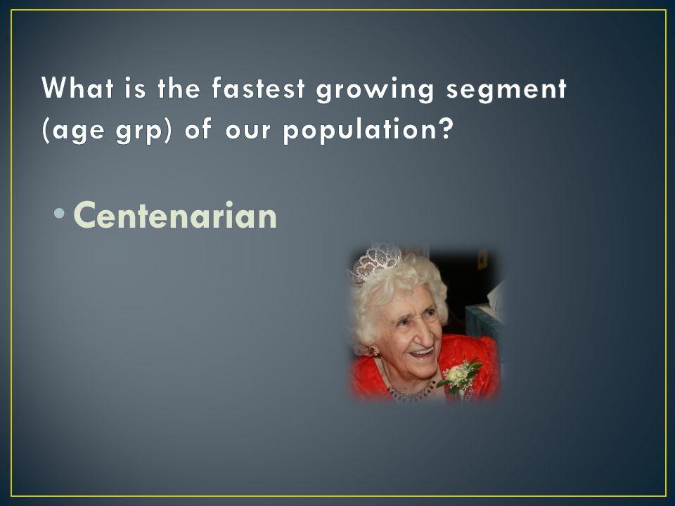Centenarian 60 thousand