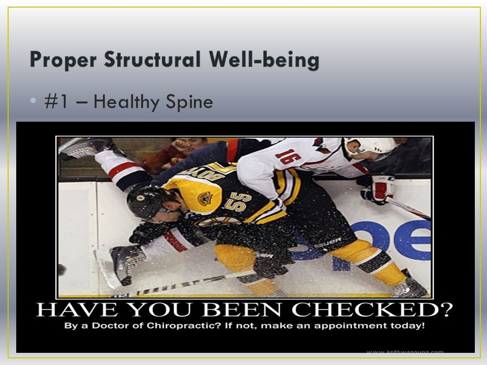 #1 – Healthy Spine