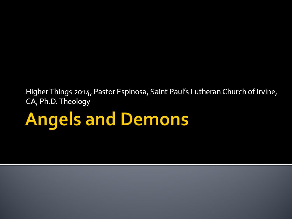Higher Things 2014, Pastor Espinosa, Saint Paul's Lutheran Church of Irvine, CA, Ph.D. Theology