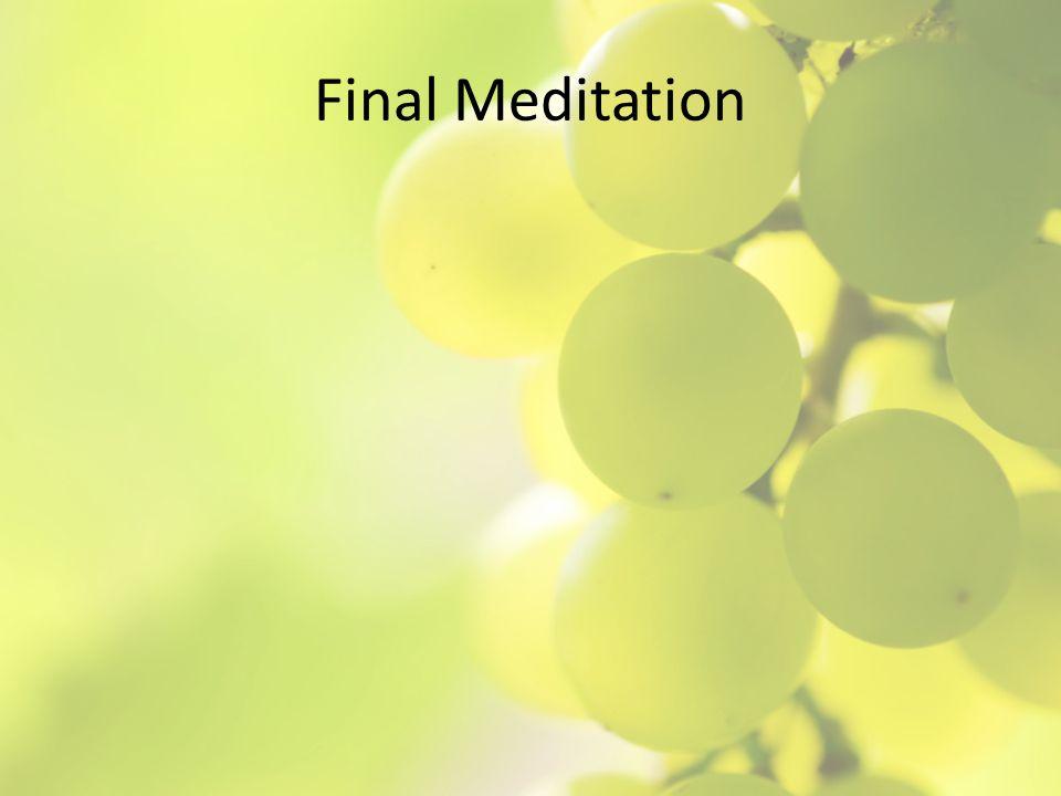 Final Meditation