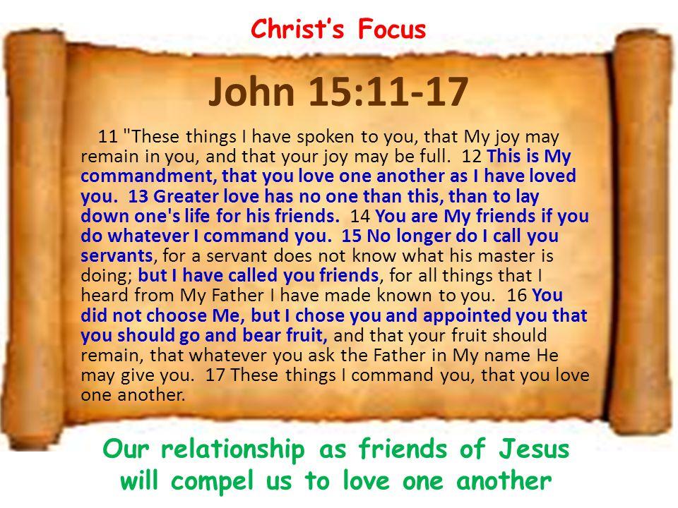 John 15:11-17 11