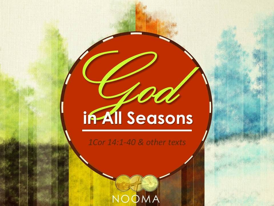 With these spiritual gifts God made provision for the nurturing of the church in its infancy.