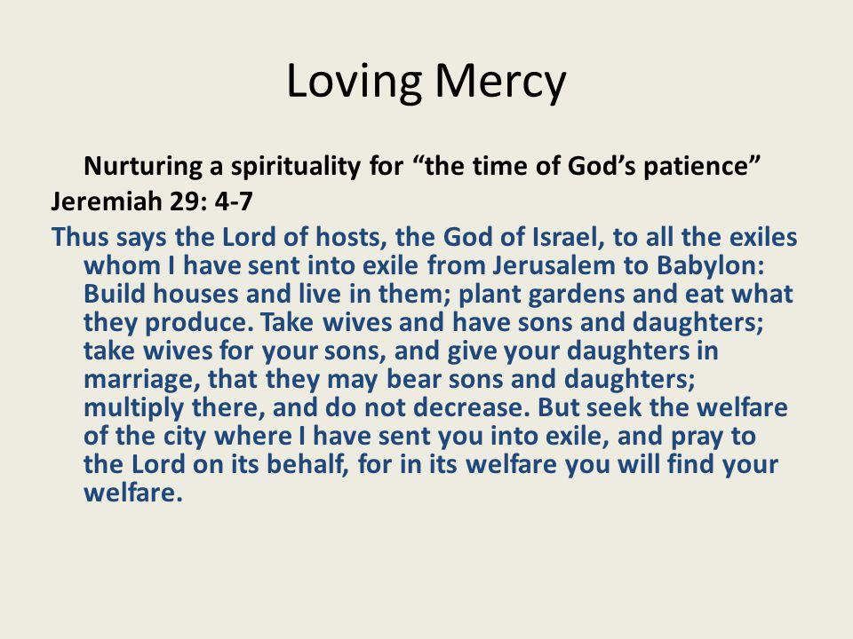 Loving Mercy New Hospitality Challenges 2.