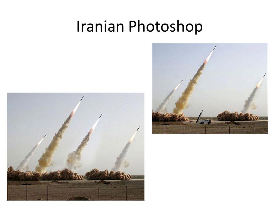 Iranian Photoshop