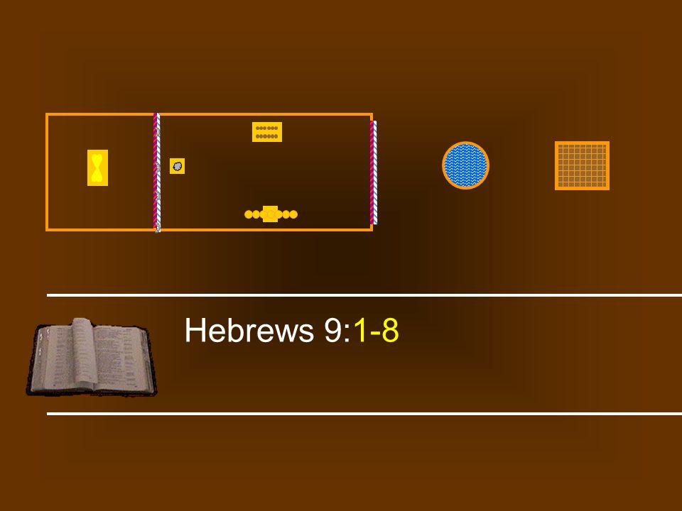 Hebrews 9:1-8