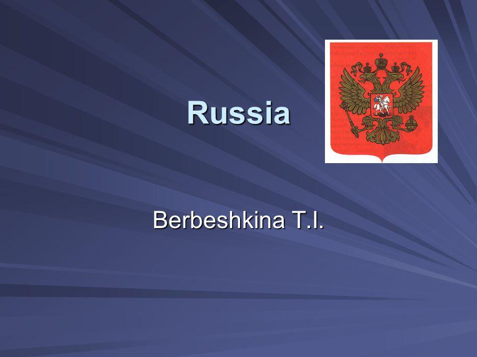Russia Berbeshkina T.I.