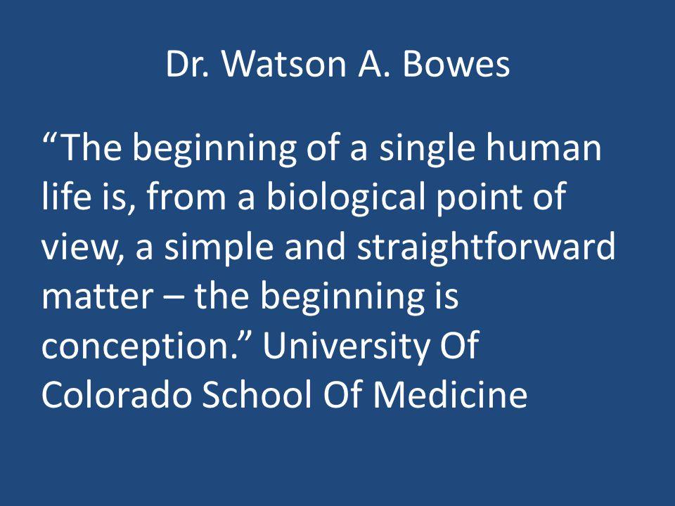 Dr. Watson A.