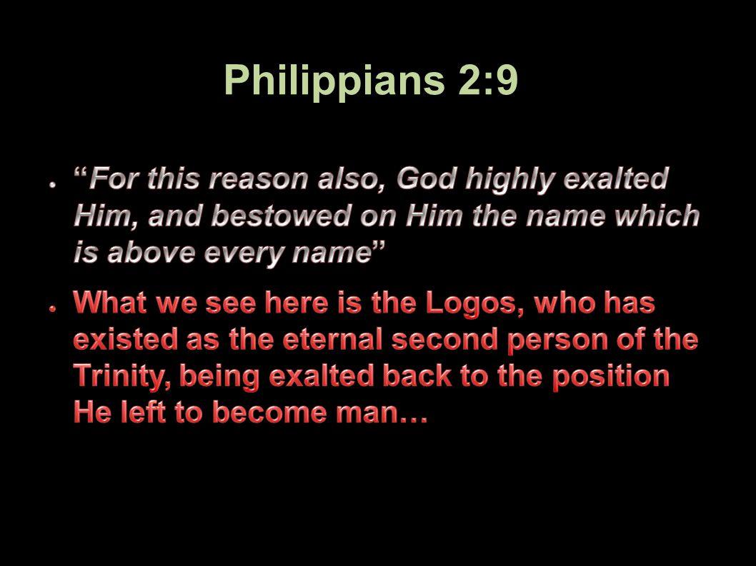Philippians 2:9 33Applied-Apologetics