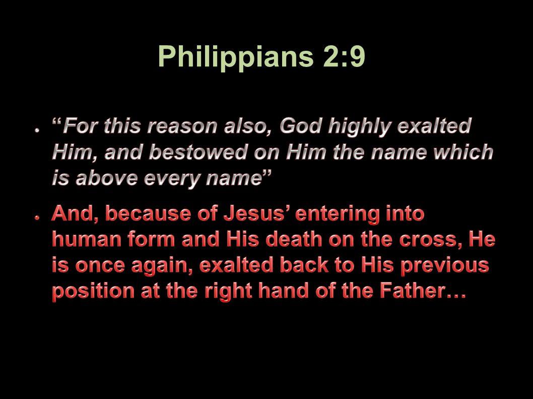 Philippians 2:9 34Applied-Apologetics