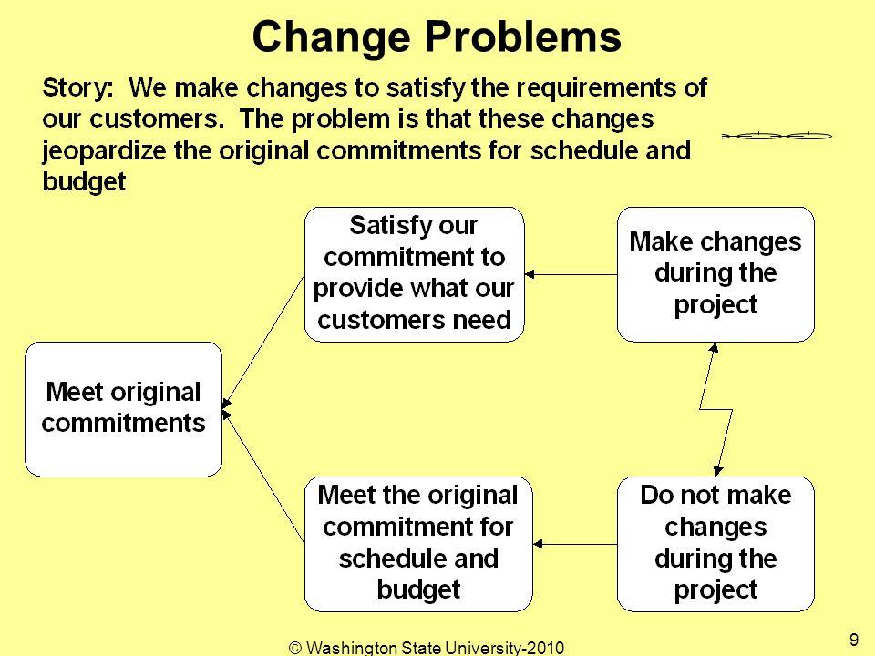 Change Problems 9 © Washington State University-2010